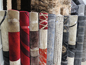 An Example of Modern Turkish Rugs Available at Empire Linen